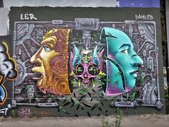Dake25 & Ler / Charleroi - 12 jul 2019 (Ferdinand 'Ferre' Feys) Tags: streetart graffiti belgium belgique belgië urbanart graff ler graffitiart charleroi arteurbano artdelarue urbanarte ferdinandfeys