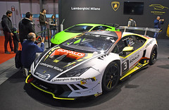 Lamborghini Huracán Super Trofeo (baffalie) Tags: auto voiture ancienne vintage classic old car coche retro expo italia sport automobile racing motor show collection club course race circuit italie milan fiera rho