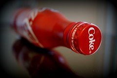 Red Coke Bottle (Toats Master) Tags: red coke bottle macro cocacola