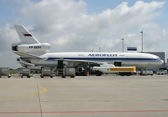 VP-BDH DC-10F Aeroflot (@Eurospot) Tags: vpbdh dc10 aeroflot hahn