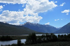 Twin Lakes (Patricia Henschen) Tags: topoftherockies scenicbyway twinlakes reservoir lake glacial colorado mountain mountains sawatch range lakecounty sanisabelnationalforest clouds nationalforest sanisabel usda forestservice recreationarea 14ers rocky