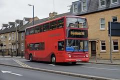 Grant Palmer Ex-East London Dennis Trident Alexander ALX400 704 LX04FYN in Bedford (Mark Bowerbank) Tags: grant palmer exeast london dennis trident alexander alx400 704 lx04fyn bedford