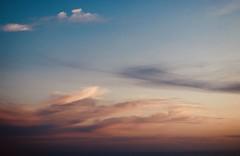 Et tes ciels sont immenses - Sagone - Corse - (Loïc.Kervignac) Tags: sunset sky color canon 50mm ciel couleur coucherdesoleil heurebleue corse