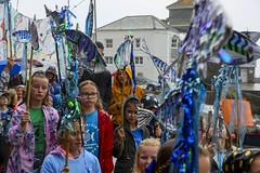 Mevagissey Feast Week, June 2019, Cornwall-4244 (Steve Weaver) Tags: mevagissey feast week summer rain june 2019 since1754 cornwall lovecornwall kernow parade procession children families happy sad smiles fedup outdoors raining