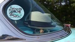 Supernationals (mitchell_dawn) Tags: chevrolet belair buttyrun longitchdiner classiccar fifties 50s 1950s window hat