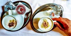 Coffee break (rociomcoss) Tags: coffee cream sugar hand vienna social socialize break cafe cup tray cinnamon foam