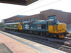 "37402 ""Stephen Middlemore"" (mike_j's photos) Tags: york drs class37 networkrail 37402 caroline 975025"