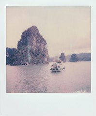 The Cruise (o_stap) Tags: believeinfilm ishootfilm instant halongbay halong analog polaroidoriginals polaroid