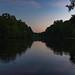 Sleepy Hollow Park at sunset. Little Rock. 2019.
