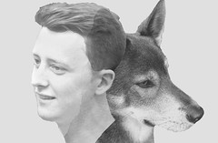 humanimal (Cor Oosterbeek) Tags: smileonsaturday humanimal tim son zoon wolf dog hond wolfshond