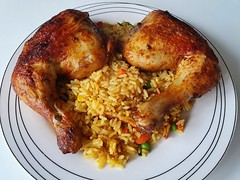 🍴 Nasi met gegrilde kippenpoot 🍗 🍴   好吃! #foodporn #foodphotography #foodfantasy #foodpics #withGalaxy  Picture #Samsung #GalaxyS10Plus 📱 #FoodMode #OneUI #Pie ASF3 (henklbrNL) Tags: foodphotography withgalaxy foodporn foodmode foodfantasy oneui galaxys10plus samsung foodpics pie