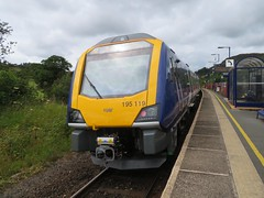 Arriva Northern Class 195 (deltrems) Tags: arriva northern rail railway train dmu diesel multiple unit staveley cumbria class195 civity caf