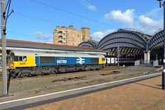 """66789 """"British Rail 1948-1997"""" (mike_j's photos) Tags: york class66 66789 gbrf britishrail"""