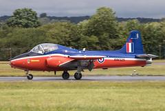 EGVA - Hunting Percival Jet Provost T5B - G-BWGF / XW325 (lynothehammer1978) Tags: egva ffd raffairford royalinternationalairtattoo royalinternationalairtattoo2019 huntingpercivaljetprovostt5b xw325