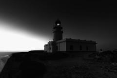 to the lighthouse (Gaia Rampon) Tags: bw blackandwhite outdoor seascape ciel cielo sky lighthouse menorca nikkor naturaleza nature light shadows capdecavalleria