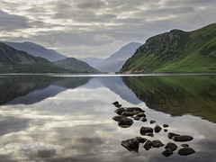 Ennerdale Water (www.peterhenryphotography.com) Tags: ennerdale water lake lakedistrict cumbria morning still calm reflections fells mountains sky clouds