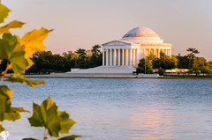 Thomas Jefferson Memorial (Music Celebrations International) Tags: otherkeywords neoclassical awe outdoors old water staircase city outdoor opinion downtowndistrict jeffersonmemorial tree citystreet parkmanmadespace columns colorful steps beautiful age architecturalcolumn circle leaf architecture park urbanscene tourism oldfashioned multicolored buildingexterior autumn memorial recreationsports colours historic amazing nature reflection monument marble sunset tidalbasin architectural dusk colonnade washingtondc materials colourful circular dome travel portico cityscape history sky sunlight cultures heritage shape