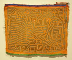 Mola Panama Guna Textiles Kuna (Teyacapan) Tags: cuna kuna guna molas museo oaxaca sewing textiles panama