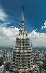 Pinacle (OAS PHOTOS) Tags: malaysia petronas skyscraper towers travel cladding architecture curtainwall metalcladding petronastower structure kualalumpur