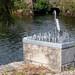 METAL BIRD AT O'BRIEN'S BRIDGE IN GALWAY [GALWAY CIVIC TRUST PROJECT]-154299