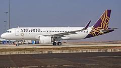 Vistara Airbus A320NEO VT-TNC Bangalore (BLR/VOBL) (Aiel) Tags: vistara airbus a320 a320neo vttnc bangalore bengaluru sonyrx100ii