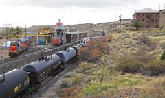 Martin of Utah's past (GLC 392) Tags: utah ut martin locomotive shop shops railroad railway train mk5000 mk503 morrison knudeson past time mountain mountains emd sd50s 6063 5003 5002 5001 6062 office history rwy