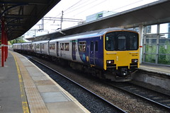 Photo of Northern Rail Class 150/1 150144 & 150135 - Stockport