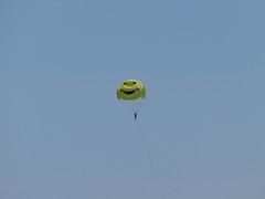 Greek Watersports (Living in Dorset) Tags: parasailing watersports sky dassia corfu greece greek smiley
