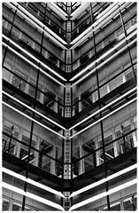 Corner (T.Seifer : )) Tags: architecture blackandwhite fuji blackwhite bw view perspective light lines outdoors whiteandblack whiteblack outside building design