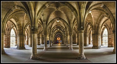 200/365 The Cloisters at the University of Glasgow. 200 down only 165 to go!!! (B Ryder) Tags: sony a6300 1650mm glasgow universuty cloisters scotland architecture wide angle panorama