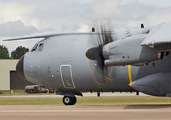 A400M (Graham Paul Spicer) Tags: riat airtattoo tattoo ffd fairford raffairford airfield aircraft plane flying aviation display airshow uk military warplane airbus a400m airlift transport cargo tactical atlas airbustest grizzly