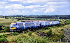 170432 @ Culloden (A J transport) Tags: class170 diesel dmu 170432 scotland scotrail saltirelivery highlandmainline railway trains viaduct culloden d5300 dlsr nikkon sky