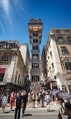 _DS16653 - The Santa Justa Lift (AlexDROP) Tags: 2019 portugal lisboa lisbon europe art travel architecture color wideangle city street people nikond750 tamronaf1735mmf284diosda037 best iconic famous mustsee picturesque postcard circpl