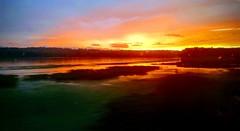 Sunset over the Hudson River 17 JUL 2019 (patchais) Tags: sunset nature amtrak rail new york hudson river