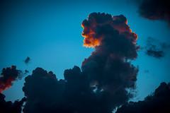 cloud fire (-dubliner-) Tags: cloud explosion sky cumulonimbus towering