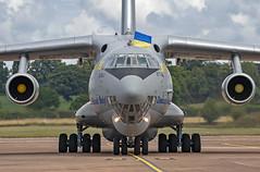 Ukranian Air Force  IL-76MD 76683 (Vortex Photography - Duncan Monk) Tags: ukraine ukranian force il76 il76md ilyushin 76683 air tanker a2a refuel refuelling riat2019royalinternationalairtattooairshowuk raffairfordusafe candid nato head taxi grey jet engines