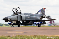 McDonnell Douglas F-4E 2020T Phantom II 77-0288 Turkish Air Force RAF Fairford 18/07/19 (Shaun Schofield) Tags: aircraft aviation airshow aeroplane fairford riat turkey phantom