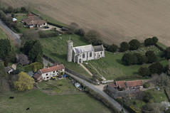 St John the Baptist Church in Aylmerton - Norfolk UK aerial (John D Fielding) Tags: church norfolk above aerial nikon d810 hires highresolution hirez highdefinition hidef britainfromtheair britainfromabove skyview aerialimage aerialphotography aerialimagesuk aerialview drone viewfromplane aerialengland britain johnfieldingaerialimages fullformat johnfieldingaerialimage johnfielding fromtheair fromthesky flyingover fullframe aylmerton