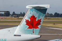 Air Canada Express Dash 8-400 (C-GXJZ) (Vince Amato Photography) Tags: aircanadaexpress bombardier britishcolumbia cgxjz cyvr canada commercialairliner dh4 dh8d dash8400 ggn jza kv qk skv vancouver vancouverinternationalairport yvr zx