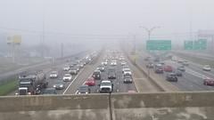 Interstate Fog (Editor B) Tags: fog i10 interstate louisiana midcity neworleans