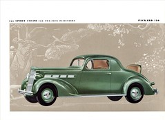 1937 Packard 120 Sport Coupe (aldenjewell) Tags: 1937 packard 120 sport coupe brochure two four passengers rumble seat