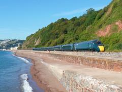 802112 Teignmouth (1) (Marky7890) Tags: gwr 802112 class802 iet 1c71 teignmouth railway devon rivieraline train