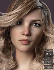 Anatomically Correct: Alicia 2 (Adam Thwaites) Tags: anatomicallycorrect body character dazstudio daz3d female genesis3female genesis8female head iray morph realistic shader shape skin texture