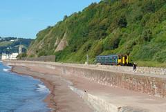 150244 Teignmouth (1) (Marky7890) Tags: gwr 150244 class150 sprinter 2f13 teignmouth railway devon rivieraline train