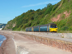 143617 Teignmouth (Marky7890) Tags: gwr 143617 class143 pacer 2t07 teignmouth railway devon rivieraline train