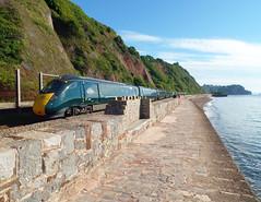 802020 Teignmouth (Marky7890) Tags: gwr 802020 class802 iet 1a77 teignmouth railway devon rivieraline train