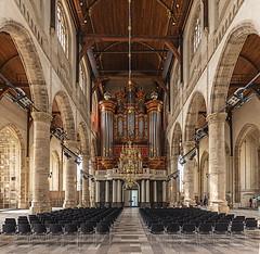 Laurenskerk in Rotterdam (ulrichcziollek) Tags: niederlande rotterdam kirche kirchenschiff gotik gotisch gewölbe