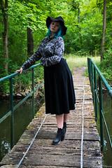 Shooting Ambre 1ère Partie (Ar Naud Photography) Tags: couleur noiretblanc collaboration ambre shoot shooting chapeau chemise jupe talons élégance