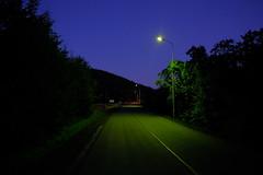 Długopole Dolne (nightmareck) Tags: zmierzch dusk twilight bluehour fujifilm fuji fujixt20 fujifilmxt20 xt20 apsc xtrans xmount mirrorless bezlusterkowiec xf16mm xf16mmf14rwr fujinon primelens dolnośląskie dolnyśląsk polska poland europa europe długopoledolne