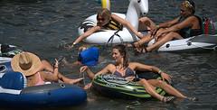 Floating Women (Scott 97006) Tags: ladies woman females water wet float river sunshine